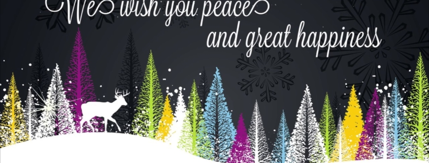 We wish you peace and great happiness