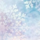 This is Snowy December background with snowflakes on it