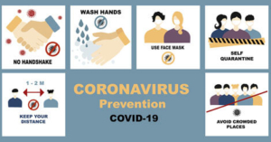 Tips about how to prevent the spread of the Covid-19 pandemic