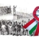 """The Revolution of 1848-49 in Hungary and a """"kokárda"""" with the Hungarian national colors"""